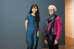 Visual arts protégée Thao-Nguyen Phan and mentor Joan Jonas in New York.